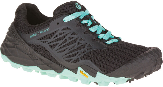 Merrell W's All Out Terra Light Shoes BLACK